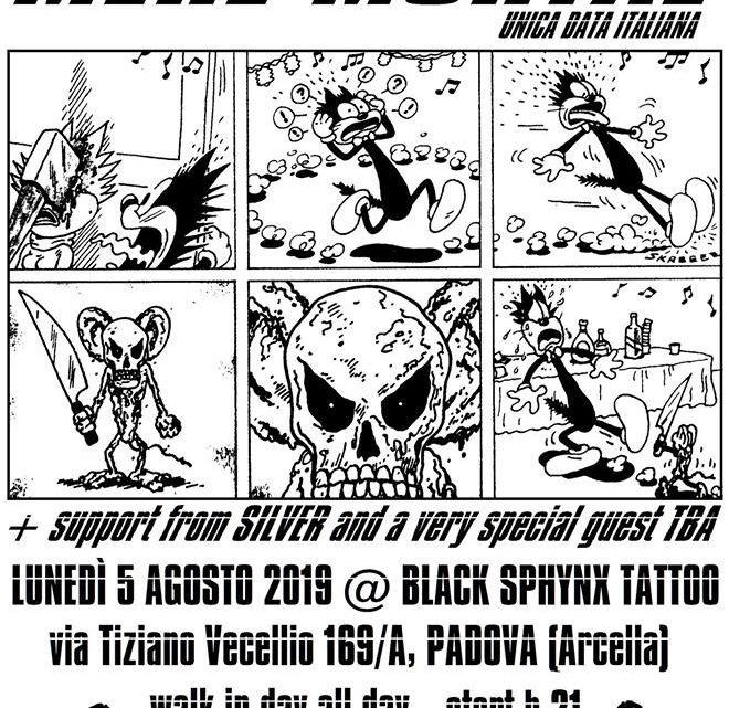 Big Cheese / Mere Mortal + Silver @ Padova 05/08/2019
